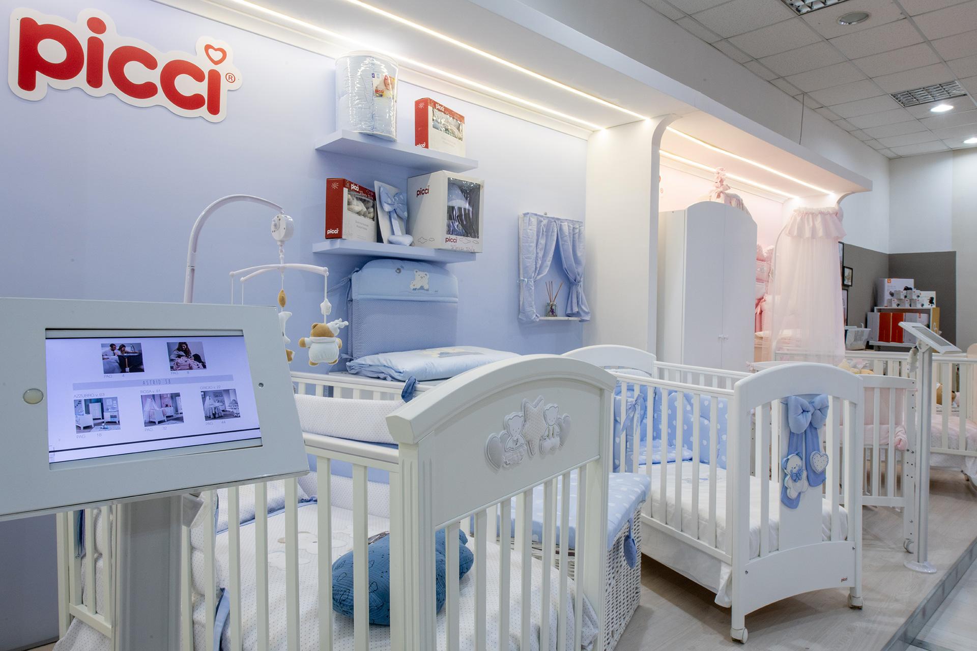 Baby Italia culle per neonati in campania